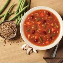 Blount Organic Ancient Grain Minestrone Soup, 4 Pound -- 4 per case.