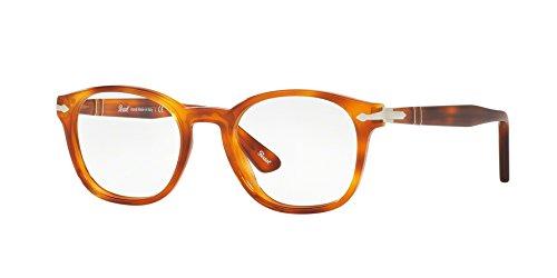 Persol Men's PO3122V Eyeglasses Light Havana 48mm