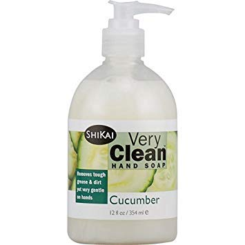 (2 Packs of Shikai Products Hand Soap - Very Clean Cucumber - 12 Oz)