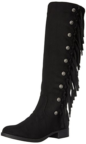 Women's Indaco Charley Boot Rd Rd Stivale Donne Western Occidentale Indigo Nero Charley Black Delle t1fwqAx5
