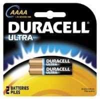 Duracell AAAA 2 Pack CARDED