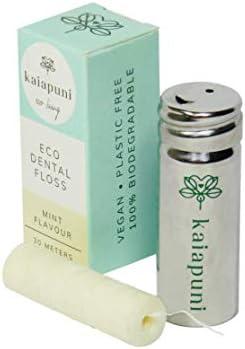Kaiapuni Eco Living - Hilo dental vegano en botella de acero ...