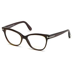 Tom Ford Eyeglasses TF 5291 Eyeglasses 052 Brown and green stripes 55mm