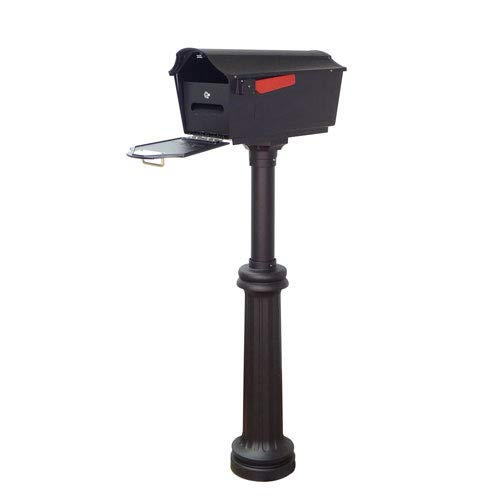 Special Lite Products Company Town Square Curbside Mailbox With Locking Insert And Bradford Mailbox ()