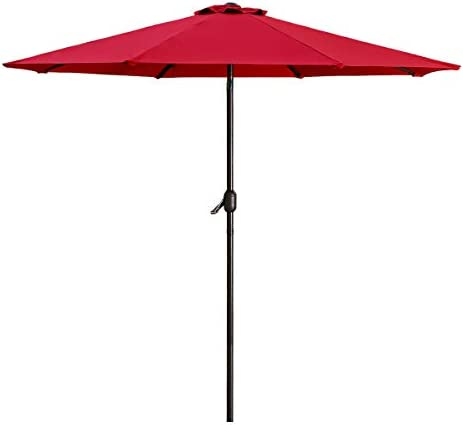 Patio Umbrella 9FT Upscale Garden Table Umbrella
