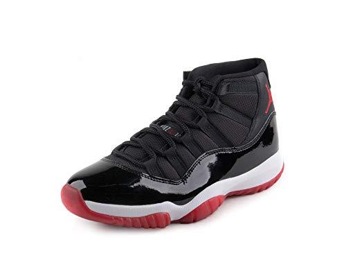 AIR Jordan 11 Retro BRED Blck/True RED-WHTE [378037-061] US Men SZ 10