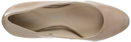 Rockport mujeres de siete a 7 Bomba Warm Taupe