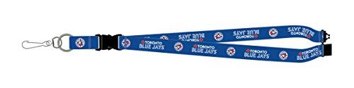 - Toronto Blue Jays PSG Blue Premium Lanyard 2-sided Breakaway Clip Keychain Baseball