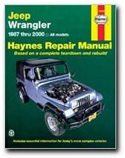 Jeep wrangler 1987 2011 repair manual haynes repair manual haynes jeep wranglar 87 03 manual 50030 fandeluxe Images