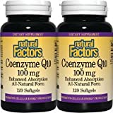 CoQ10 100mg Twin pack Natural Factors 120+120 Softgel Review