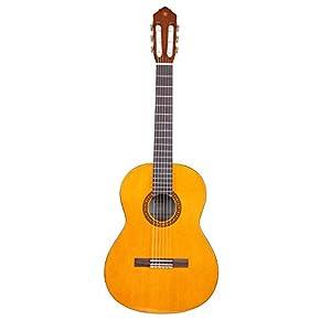 Yamaha CS40II Konzertgitarre natur – Leicht bespielbare Akustikgitarre für junge Einsteiger – 3/4 Gitarre aus Holz…