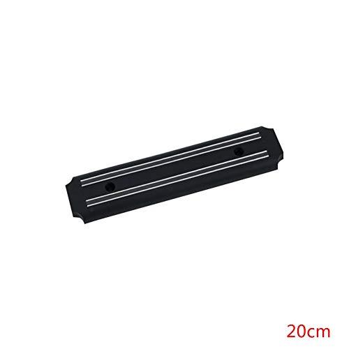Knife Holders Magnetic Knife Holder Wall Mount Black ABS Placstic Block Magnet Knife Holder For Metal Knife 20cm