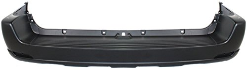OE Replacement Toyota Sequoia Rear Bumper Cover (Partslink Number TO1100200)
