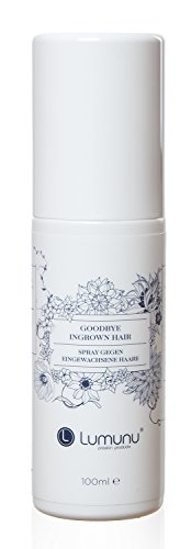 Deluxe Spray gegen eingewachsene Haare Goodbye Ingrown Hair, pflegend & entzündungshemmend bei Rasurbrand