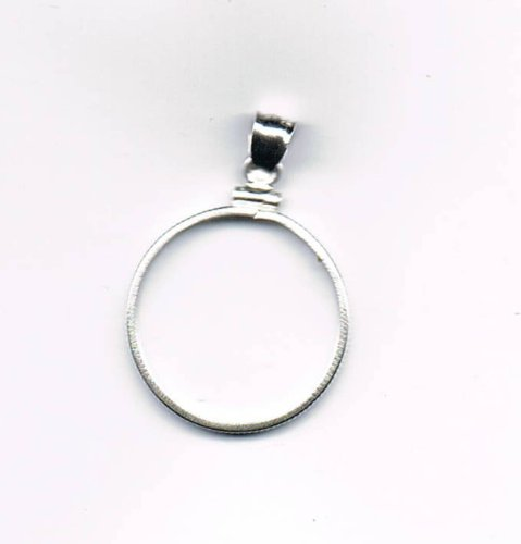 Sterling Mounting - Dollar Sterling Plain Bezel (Dollar Mounting) by Stamp & Coin