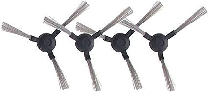 Lot de 4 brosses lat/érales pour AMIBOT Pure Laser H2O Accessoires