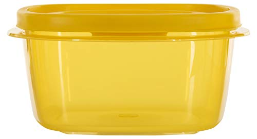 SimpArte Plastic Grocery Container, 22-Pieces, Golden Yellow