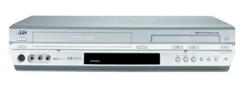 JVC HRXVS44U DVD/VCR Combo , Silver