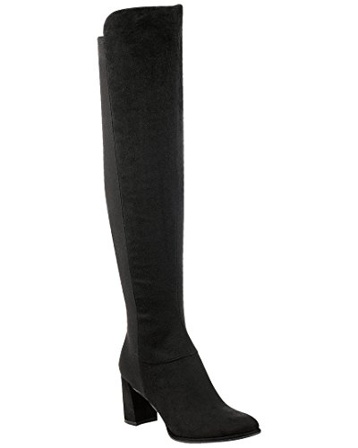 Marc Fisher Women's Loran Fashion Boot, Black, 6 Medium - By Marc Boots Marc
