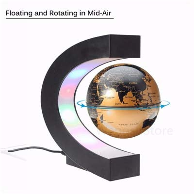 Amazon.com: Annibus LED Night Light: Magnetic Levitation Globe Night ...