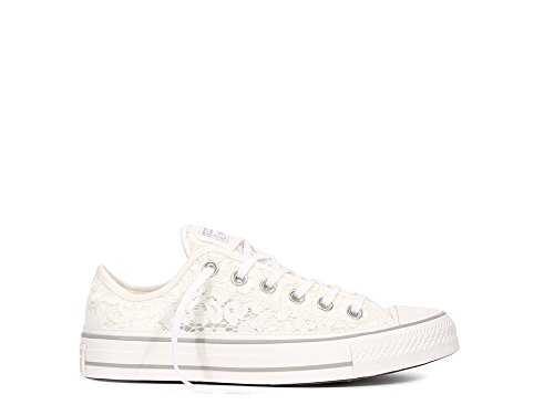 Shoelaces Converse (Converse Chuck Taylor All Star Flower Lace Fashion Sneaker (7.5 B (M) US))