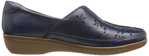 W Dairyn Womens US Loafer Everlay Slip Clarks Navy on Leather 10 qHEwdzC