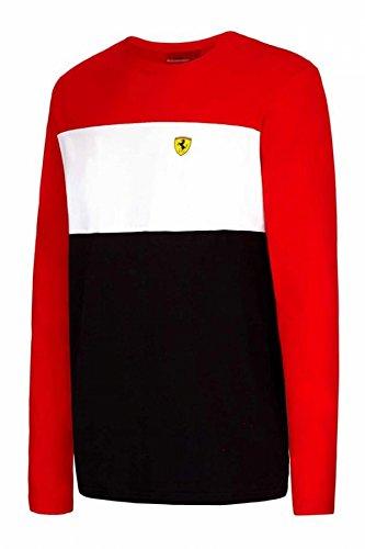 Ferrari Red Race Long Sleeve Tee - F1 Ferrari Shop