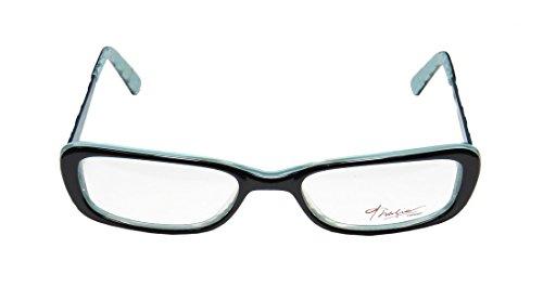 Thalia Abeja WomensLadies Rxable Latest Collection Designer Full-rim EyeglassesEyeglass Frame (48-16-135 Black  Light Blue)