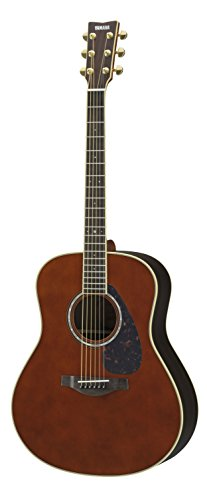 (Yamaha L-Series LL6 Acoustic-Electric Guitar - Roswewood, Dark Tinted)