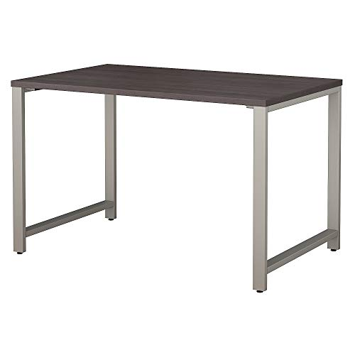Bush Business Furniture 400 Series 48W x 30D Table Desk in Storm Gray