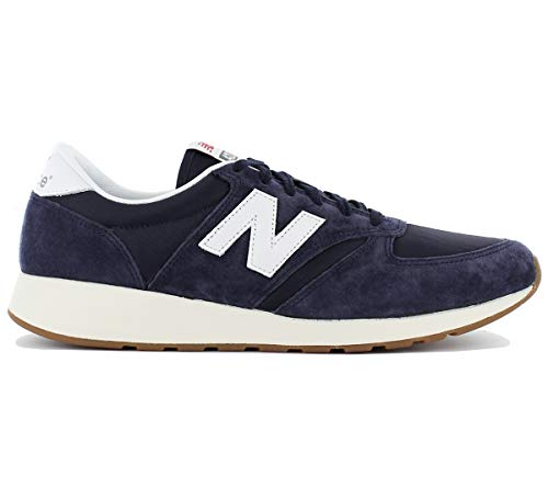 420 Zehenkappen weiß Herren Suede Balance dunkelblau Re Engineered Buty New q0tWzg5