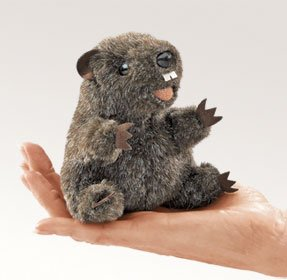 Ground Hog Finger Puppet by Folkmanis