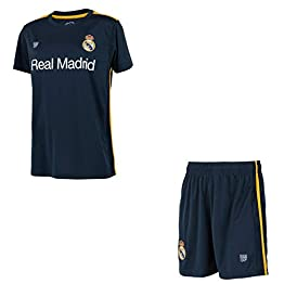 Real Madrid Minikit Maillot + Short Collection Officielle - Enfant