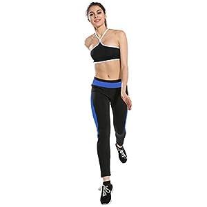 Sunfei Women High Waist Sports Gym Yoga Running Fitness Leggings Pants Athletic Trouser