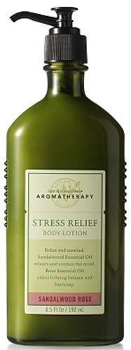 Lotion pour le corps bain & Body Works aromathérapie Relax santal Rose nourrissant 6,5 oz
