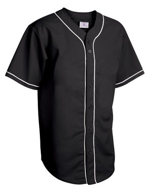 Adult Walk Off Full Button Piped Pro-Weight Polyester Jersey (XXXX-Large) ()