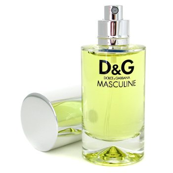 Dolce Gabbana Masculine Eau De Toilette Natural Spray – 50ml 1.7oz