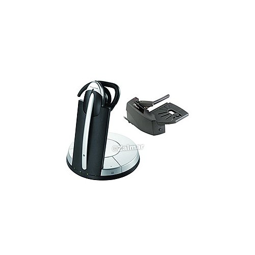 Jabra Remote Handset Lifter (Jabra (9326-617-205) DECT 6.0 Wireless Dual-Functional Office/VoIP Headset System with DSP Technology + GN1000 Remote Handset Lifter)