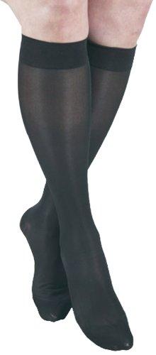 GABRIALLA Sheer Леггинсы, сжатие (18-20 мм рт.ст.), Черный, Малый 2 Граф