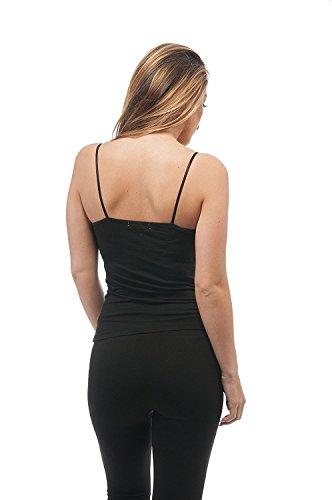 Hollywood Star Fashion Women's Semi-Crop Cami Tank Top