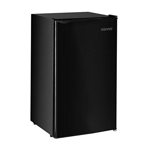 Kuppet-Mini Refrigerator Compact Refrigerator for Dorm, Garage, Camper, Basement or Office (Black, 4.6 Cu.Ft.)