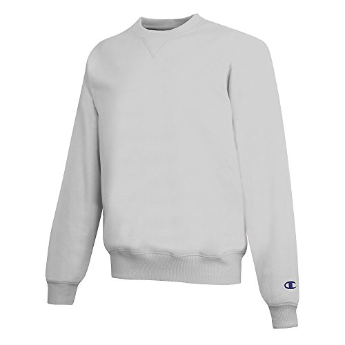 Champion Men's Max Crewneck Sweatshirt_Silver Grey_XL