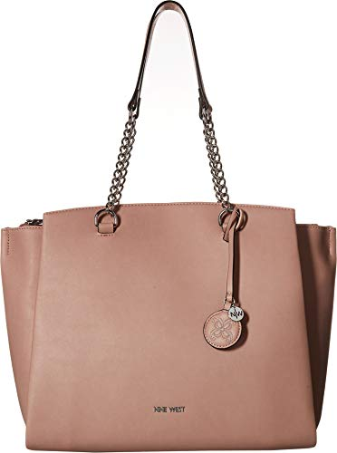 Nine West Women's Blissful Carryall Tote Modern Pink One Size (West Handbags Nine)