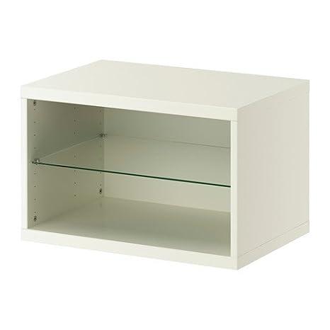 Ikea Besta - Cassettiera, 60 x 40 x 38 cm, colore bianco: Amazon.it ...