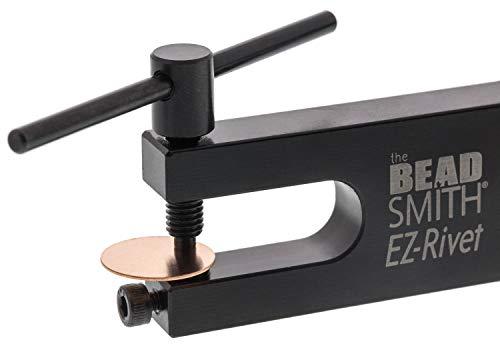 Beading Rivet - BeadSmith EZ-Rivet Piercing and Setting Tool Set, 1/16