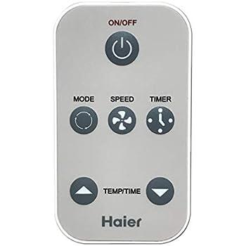 Amazon com: HQRP Remote Control for Haier HWF08XC5 HWR05XC5 HWR05XC9