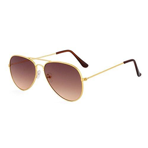 Royal Son Aviator Unisex Sunglasses (WHAT3260| 58 | Black Lens)