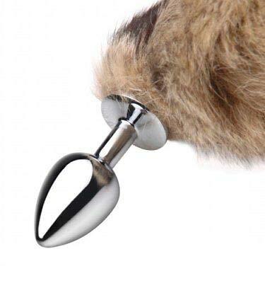 XL Anal Pl-Ü'G with Fur Tail