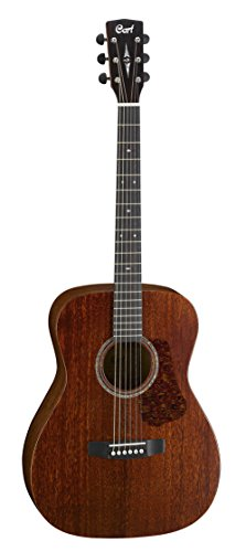 Cort Luce 6 String Acoustic-Electric Guitar, Right Handed (L450 C NS) (Acoustic Cort Electric)