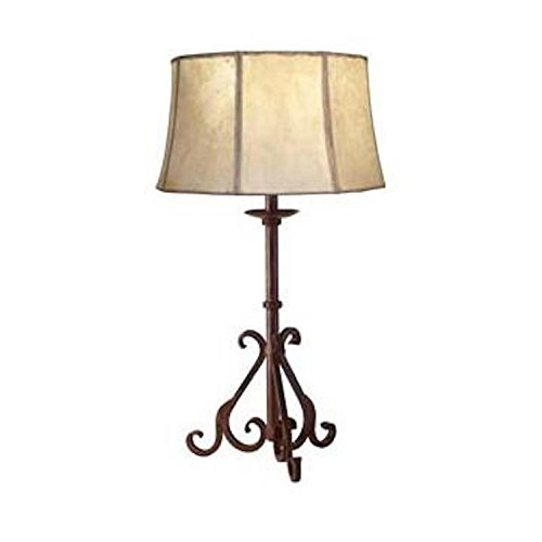 Hacienda Wrought Iron Lamp